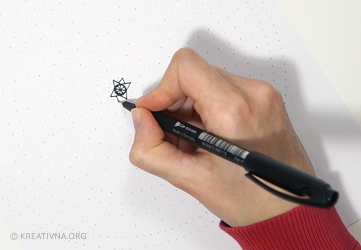 Radionica crtanja mandala: prvi prsten