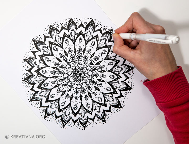 Crtanje mandala za početnike (video radionica)