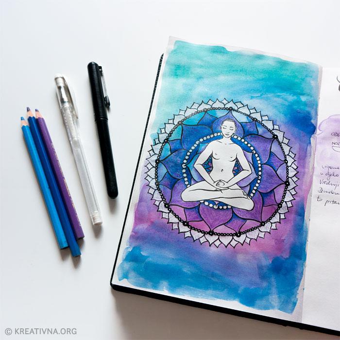 Crtkanje za svjesnost i kontemplaciju