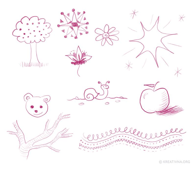 Crtkanje: kombinacije elemenata