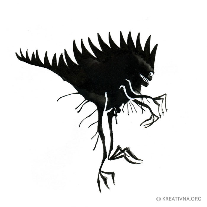 Čudovište od mrlje tinte