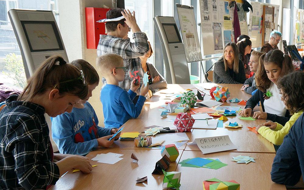 Origami radionica za djecu