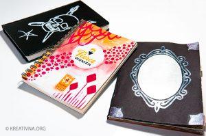 Vizualni dnevnik obojene korice – Nela Dunato