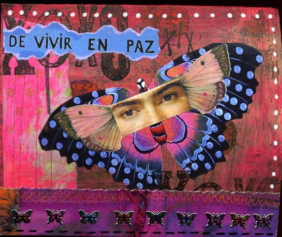 Kolaž u vizualnom dnevniku – Lisa Sonora