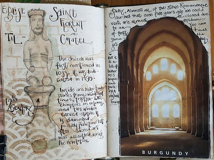 Crtež u vizualnom dnevniku – Kelly Boler